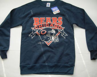 Vintage Chicago Bears NFL football sweatshirt by LOGO7 made in the USA New with sticker