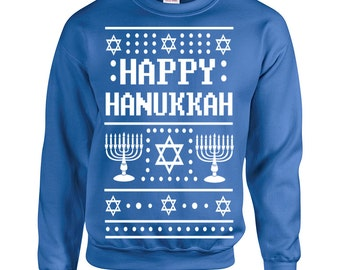 Hanukkah sweater | Etsy