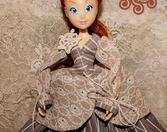 Steampunk doll Winx (doll in handmade dress)