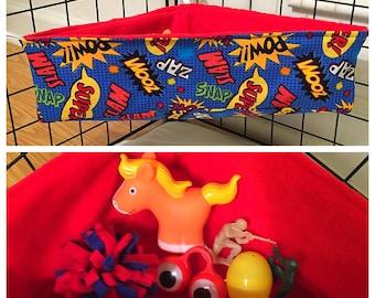 Sugar glider Corner toy box/bed