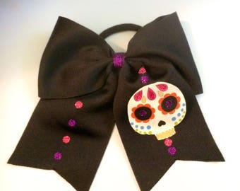 Dia de los Muertos/ Day of the Dead hairbows