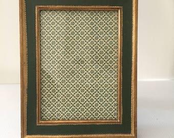 Vintage Italian Gesso Wood Frame