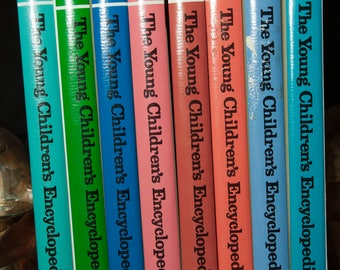 The Young Childrens Encyclopedia 1988 16 Volumes Illustrated Encyclopedia Britannica