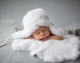 Fur Ear Flaps Hat for Kids