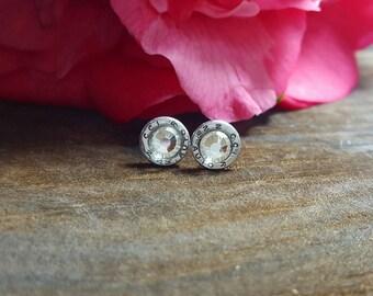 Tiny 25's >Bullet Earrings
