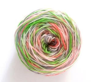 4 ply yarn · hand dyed yarn · hand dyed wool · merino wool  · sock yarn · superwash merino  knitting · crochet · hand painted yarn