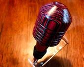 Handmade Multicolor Spectraply Chrome Bottle Stopper