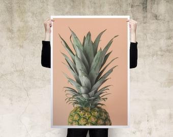 Pineapple Large Print Poster