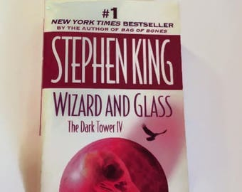 Wizard and Glass by Stephen King  Dark Tower IV    Paperback    Horror