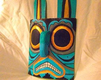 "1 handmade native american inspired wall art""owl""."