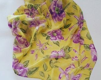 Mantero chiffon vintage scarf