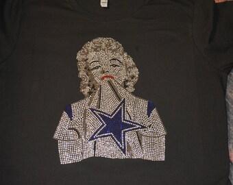 Cowboys Marliyn Monroe