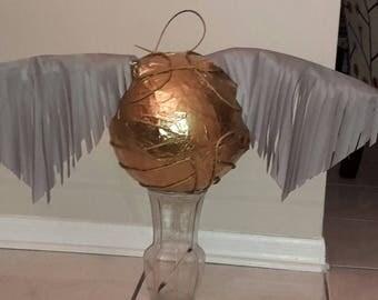 Golden Snitch. Harry Potter ball Handmade. New