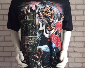 Vintage early 90's Iron Maiden Tshirt mint condition
