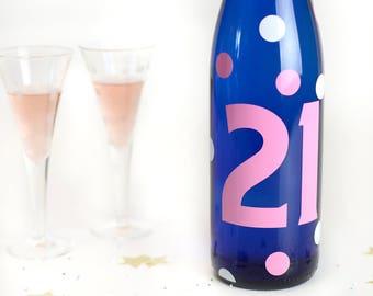 21st Birthday decal, Finally 21, 21st birthday decorations