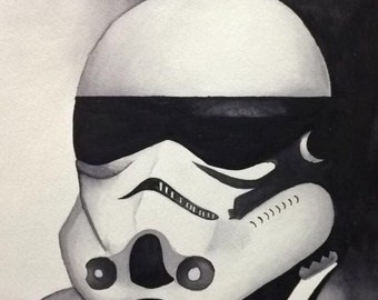 Watercolor Stormtrooper