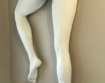 Crossing Over - Erotic Art Sculpture Female Lifecast Legs White, Artist US
