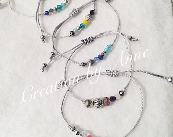 Special price beads Swarovski BRACELETS adjustable size