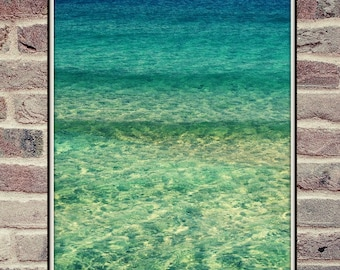 Ocean Wave Print, Surf Poster, Ocean Print, Seascape Poster, Fine Art Photography, Beach Style Poster, Digital Print,Blue Wall Art,Turquoise
