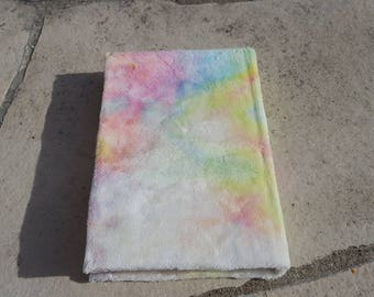 Rainbow Pastel Blank Page Journal
