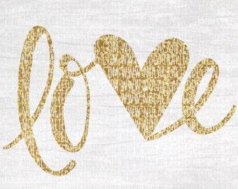 Love Svg Cut File - Valentines Svg Cut File - Heart Svg Cut FIle- My First Valentines Svg Cut File - Love Svg Cut File