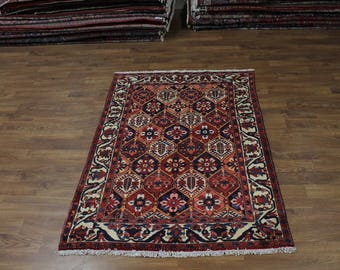 Garden Design S Antique Bakhtiari Isfahan Persian Rug Oriental Area Carpet 5X7