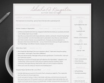 professional cv creative resume instant download cover letter