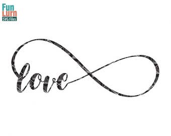 Infinity svg, infinity love , Memorial, In loving memory of, infinity, loop, love svg,  svg png dxf eps zip for cameo, cricut , cutting file