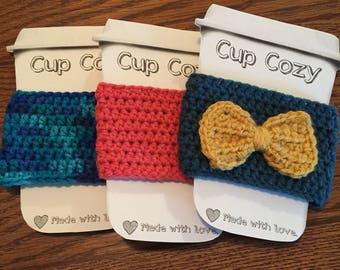 Crochet cup cozy!
