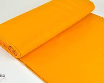 Cuff uni Extrabreit mustard yellow - fine knitting