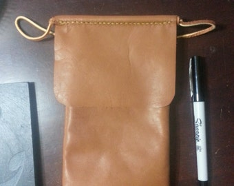 Leather Pouch for Smart Phones