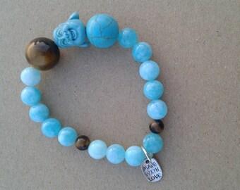 The Budhha on Zen joy bracelet