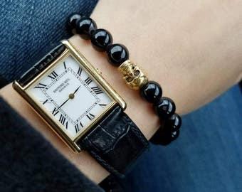 Skull bracelet.