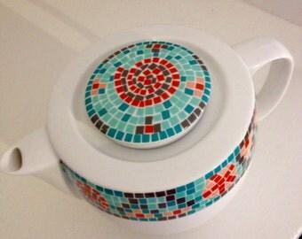 Habitat Mosaic Teapot
