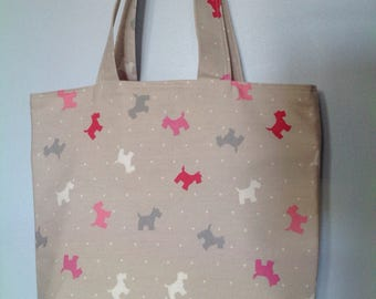 Westie, Scottie, Alfie Tote, Shopping, Beach Bag