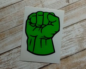 Huge Hand Decal/Huge Hand Sticker/YETI Cup Decal/Super Hero Hand Decal