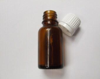 15mL Amber Tamper Evident Bottle