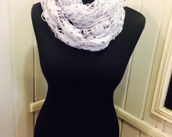 Crochet scarf, long scarf, woman scarf