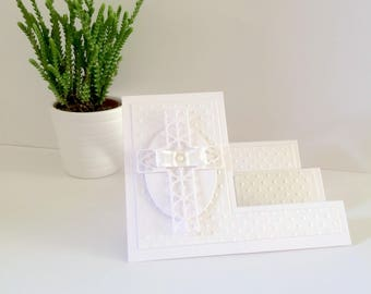 First Communion Card - First Holy Communion Card - Holy Communion Card - Christening Card - Sympathy Card - Get Well Card - Thinking Of You