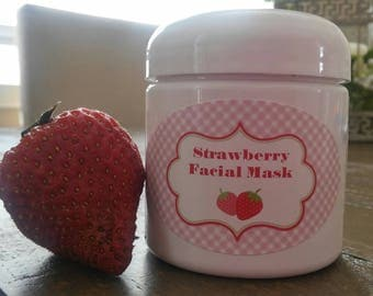 Strawberry Whipped Facial Mask