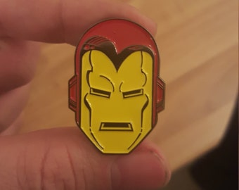 IRON MAN Bob Layton 80s Retro Enamel Pin
