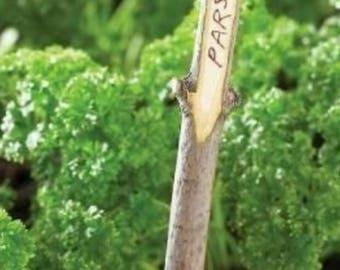 HERB/VEGETABLE/FLOWER Sign Marker Label