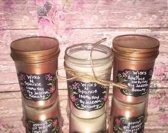 Pink Lady - 100% Soy candle bursting with fresh, sweet aromas.
