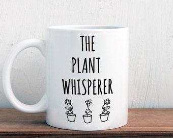 Gift for gardener, The plant whisperer gardening mug (M336)