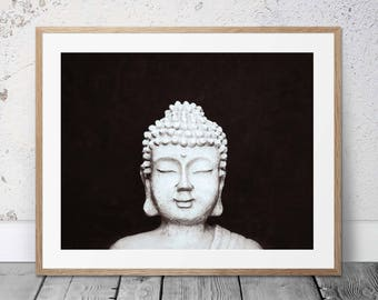 Buddha Wall Art - INSTANT DOWNLOAD Printable Art - Buddha - Zen Art - Om - Yoga - Meditation - Yoga Studio