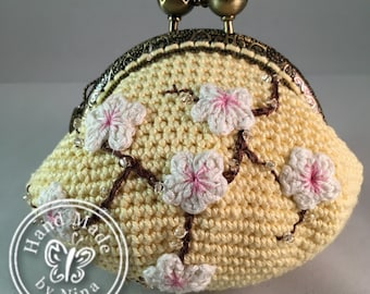 Yellow Cherry Blossom *Coin Purse