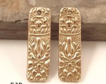 Bronze Earrings Components