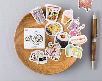 45 Pieces Life-style Stickers