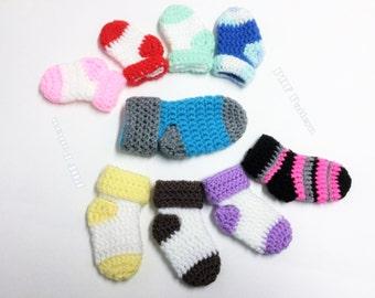 Crochet Socks Pattern Basic Newborn Baby Socks Pattern