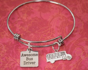 Awesome Bus Driver Gift-Bus driver appreciation, school bus, thank you